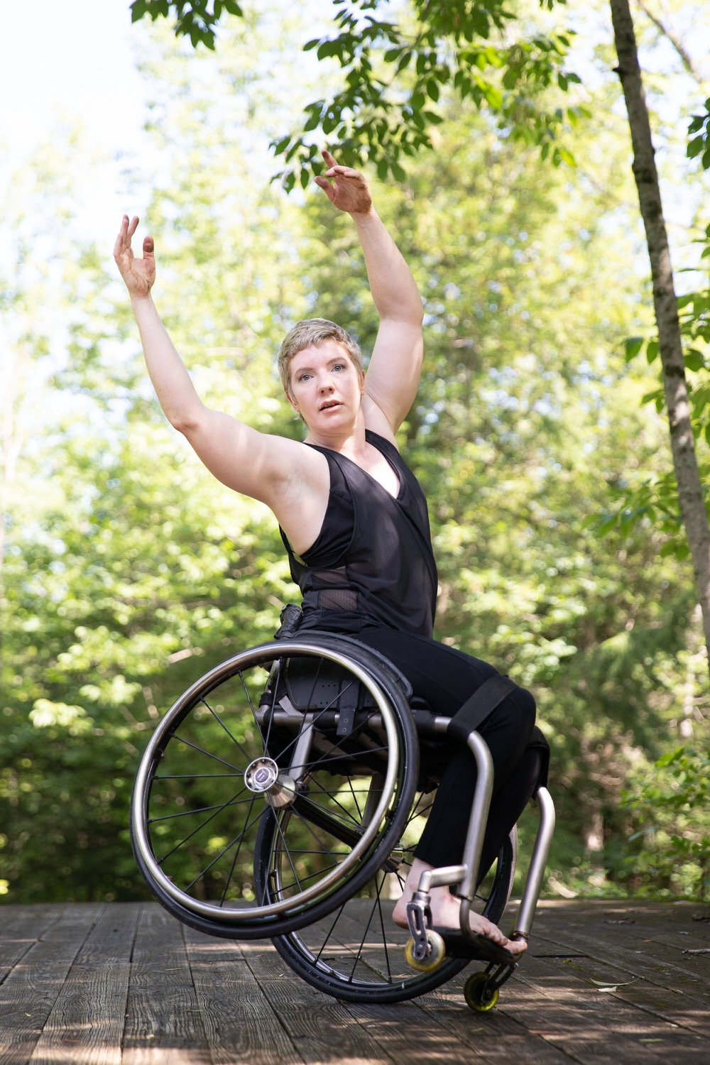 Disability Arts Leader Laurel Lawson Shares Her Response To