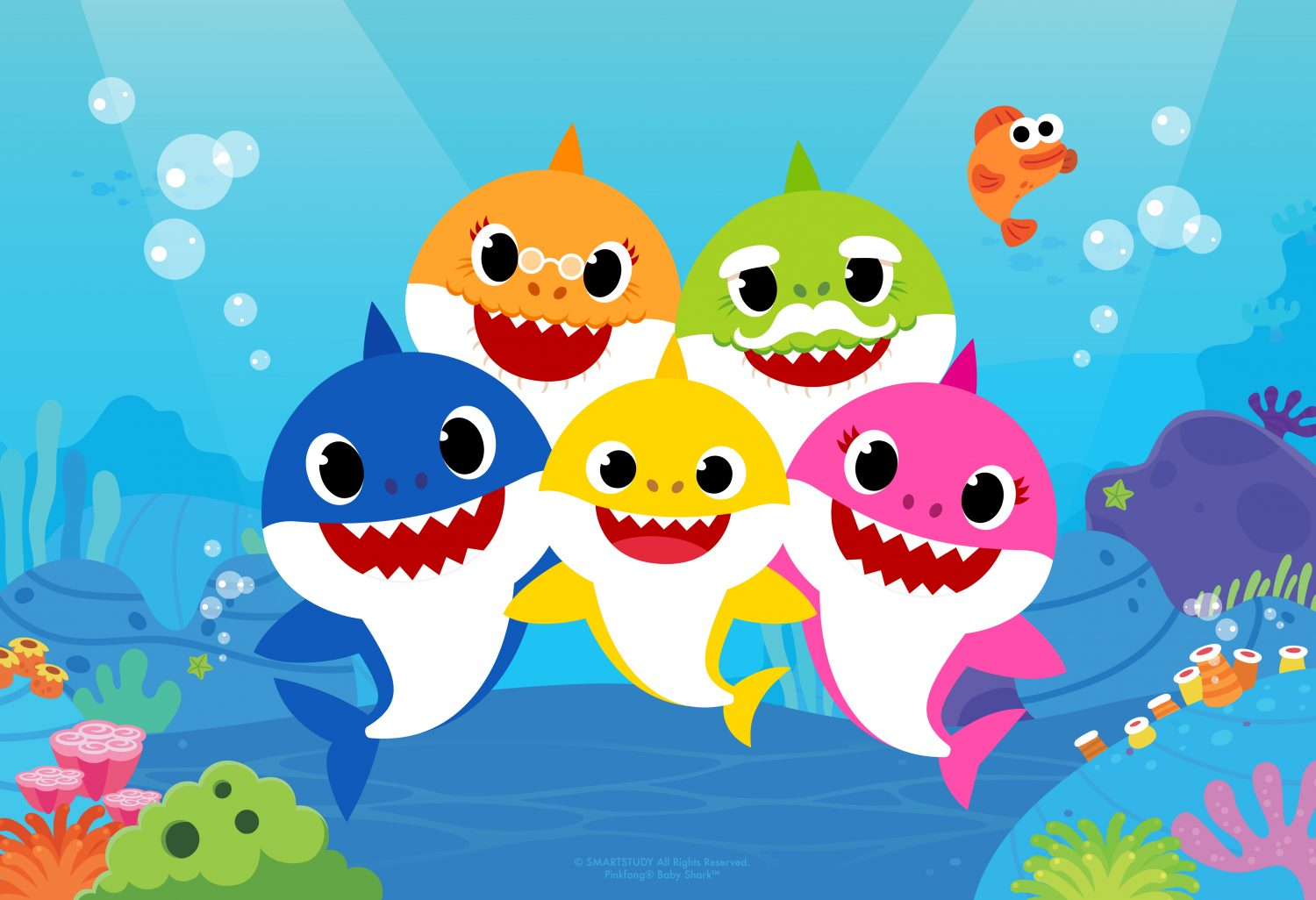 Pinkfong S Singing Dancing Animated Baby Shark Videos To Become New Nickelodeon Series Danceland