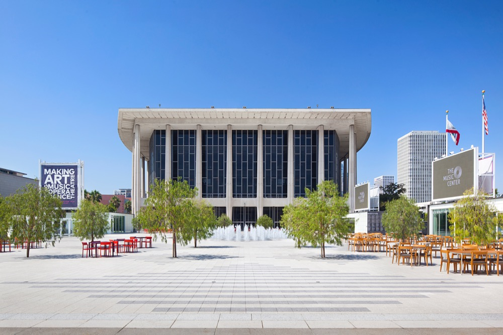 The Music Center Of Los Angeles Debuts Renovated Plaza