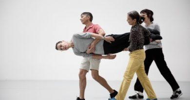 Judson Dance Theater-The Work Is Never Done - Yvonne-Rainer_Diagonal from Terrain_1963_photo by paula court