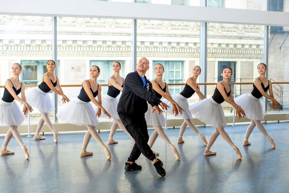 Raymond Rodriguez and Dancers Photo by Cheryl Mann