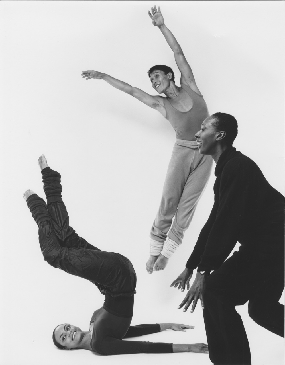 Judith Jamison rehearsing Divining with Donna Wood and Masazumi Chaya. Photo by Jack Mitchell Alvin Ailey Dance Foundation Inc. and Smithsonian Institution