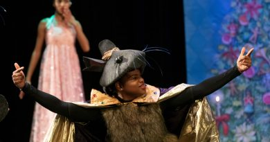 Rohana Weaver as the Mouse Queen - Photo by Marc Monaghan