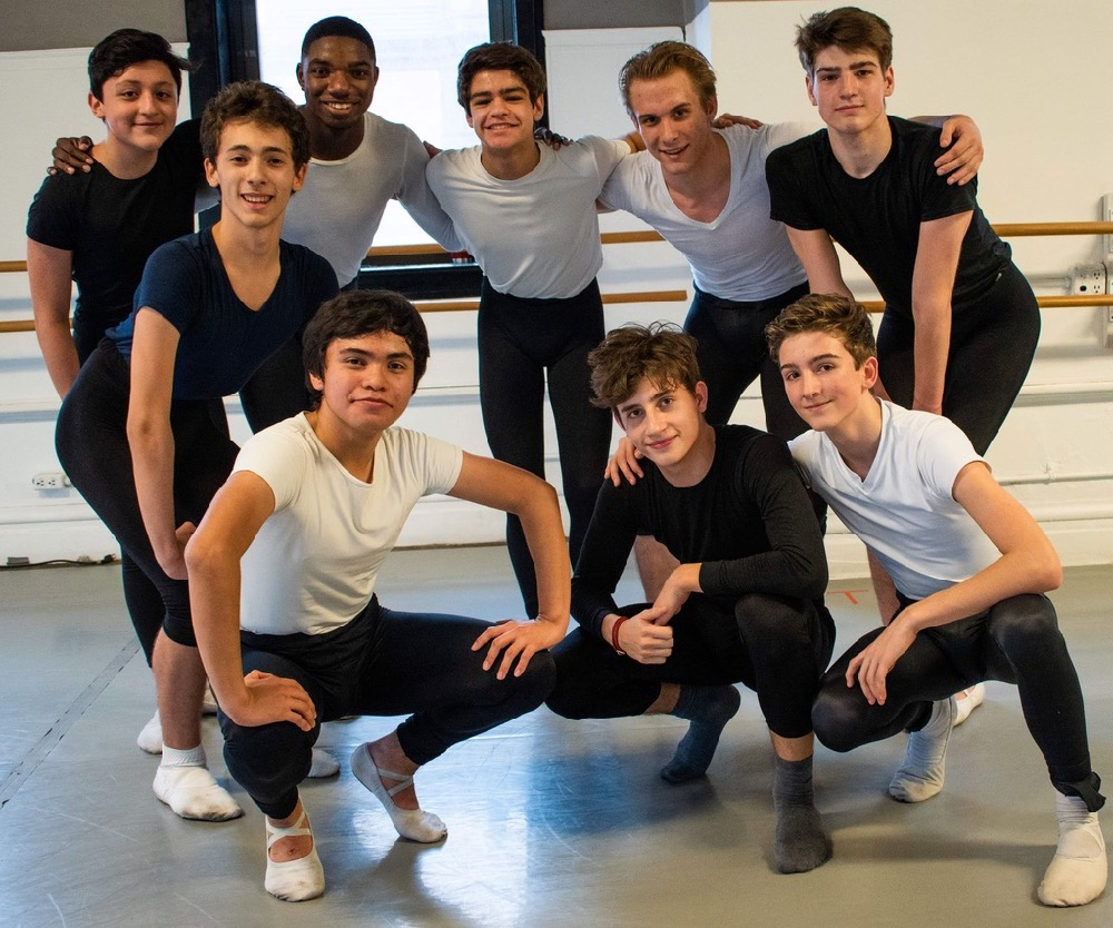 The Boys of the Chicago Academy for the Arts Dance Department