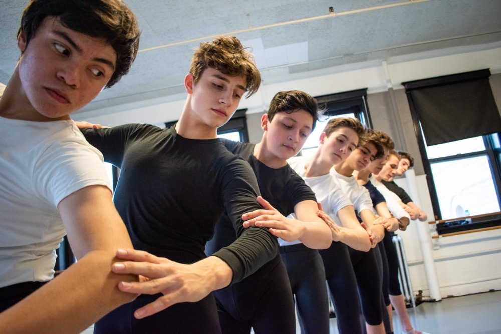 Dancers in the Boys Take On Ballet Event