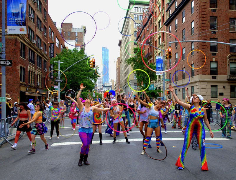 Hoop Movement Photo by Donald Lang