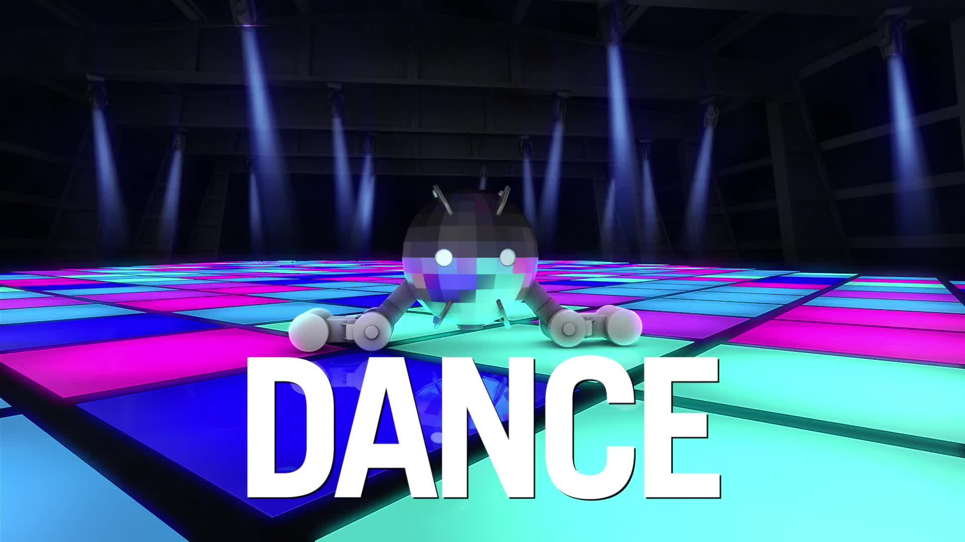 A Dancy Beatz toy with the word Dance superimposed
