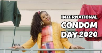 International Condom Day Lizzo Parody Video Screenshot
