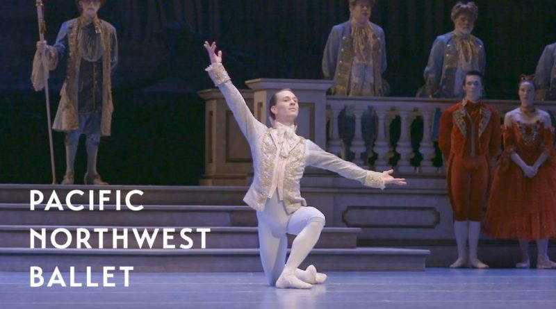 Pacific Northwest Ballet Principal Dancer Kyle Davis performing in Cinderella