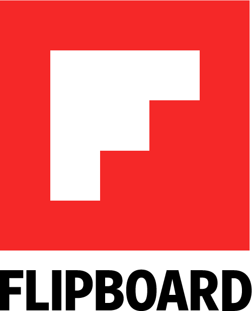 Flipboard Logo - White F in Red Square