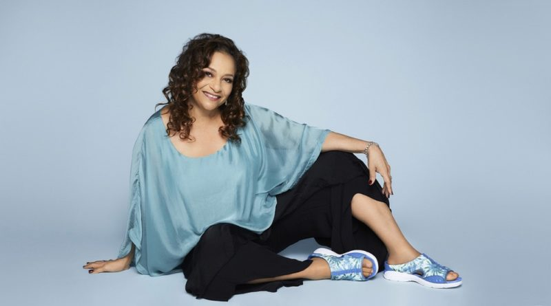 Debbie Allen looking relaxes for Easy Spirit Live Your Best Life Now campaign