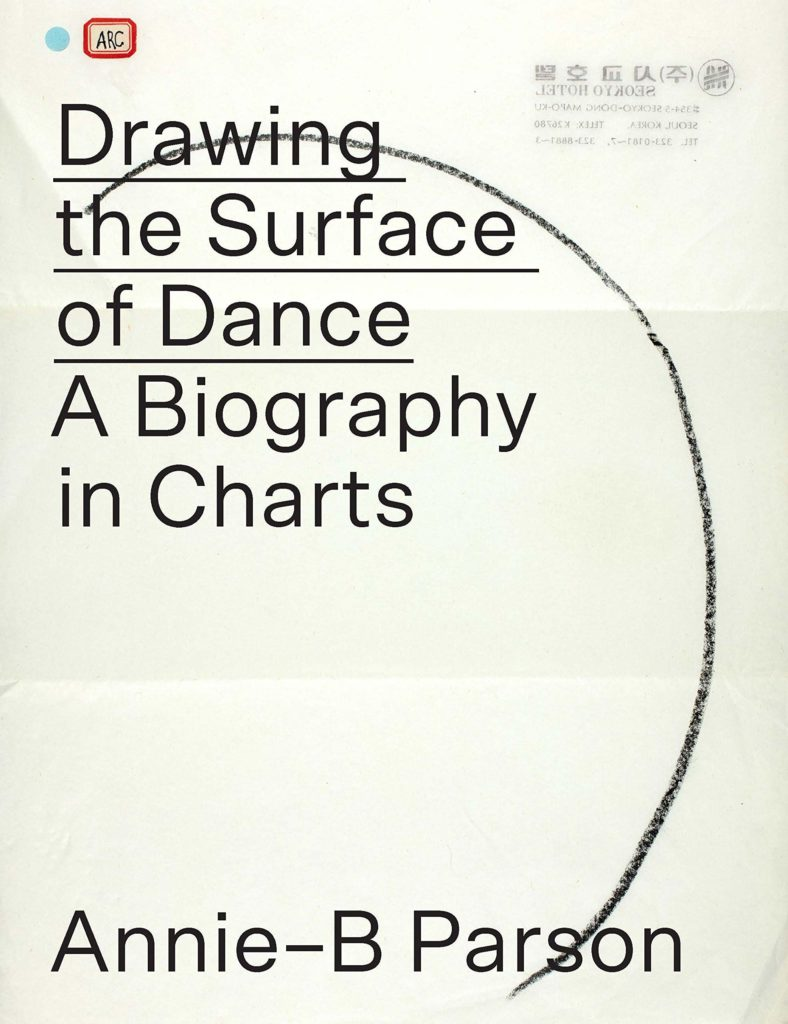 Book cover of Annie-B Parson's Drawing the Surface of Dance