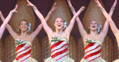 New Rockette Sydney Mesher in documentary dance video